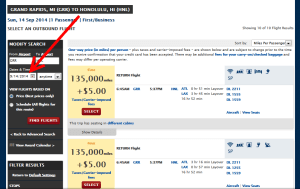 how to find saver seats delta to hawaii (4)