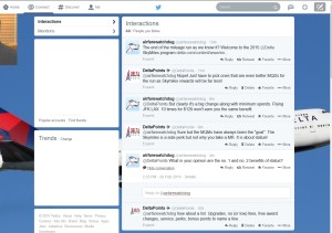 my twitter chat with airfarwatchdog rene deltapoints-com blog