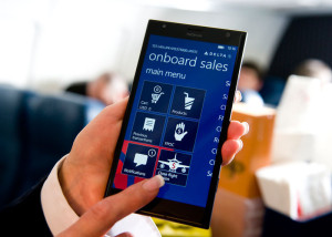 DELTA AIR LINES PHABLET CLOSE UP