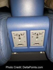below and between seats delta 717-200 power ports delta points blog