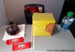 my last snack box from a hoou coupon delta points blog