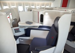 AF new business class seats