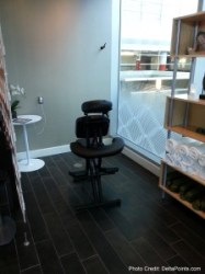 SPA Centurion lounge dfw delta points review (3)