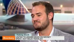brian kelly the points guy on bloomberg tv talks about united and rev based travel