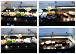 food choices centurion lounge dfw delta points review