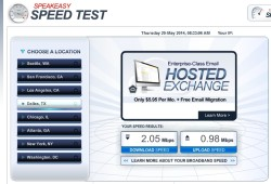 speed test wifi centurion lounge dfw