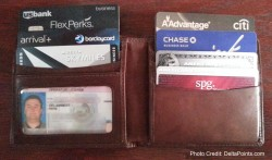 what travel points credit cards are in renes wallet now
