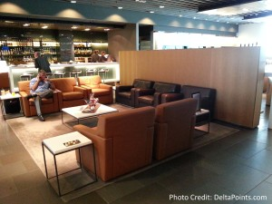 Lufthansa MUC 1st class lounge delta points blog (3)