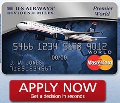 USAIR MC 40K CARD