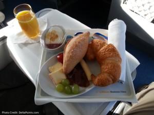 breakfast lufthansa GOT delta points blog