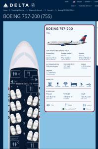 757 seats from delta-com