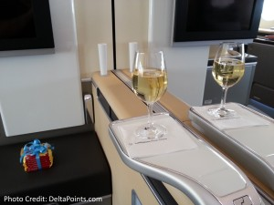 Lufthansa 1st class munich to Toronto A330 DeltaPoints blog review (8)