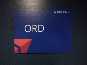 delta ORD sign delta points blog