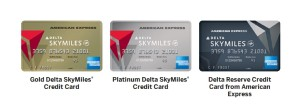 delta gold-platinum-reserve cards from amex