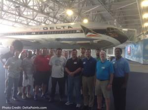 delta points group at DFM tour