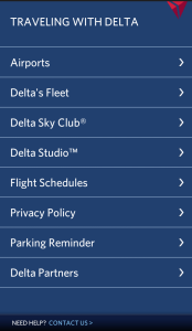 fly delta app update 2-8 android