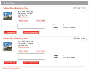 radison lax bookings