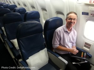 Exit row seats delta A330 atl to ams delta points blog 1