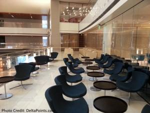 Patio Korean Air lounge LAX Delta Points blog 2