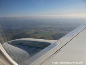 approach to GOT from AMS on KLM delta points blog