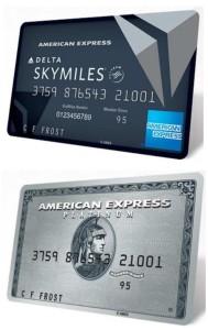 delta reserve card and amex platinum membership rewards cards