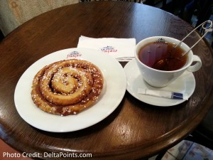 swedish bun and tea delta points blog