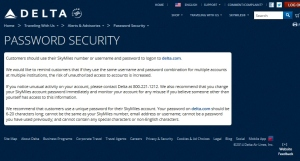 delta-com password warning