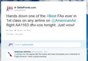 good service from aa fa