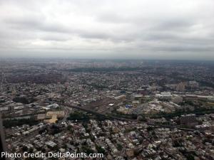 landing at LaGuardia lga airport delta points blog