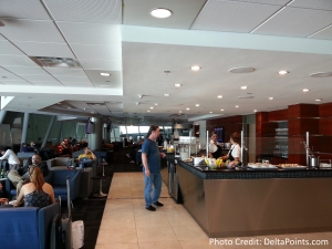 seating area VIP Lounge MIA airport delta points blog (1)