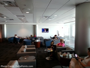 seating area VIP Lounge MIA airport delta points blog (2)
