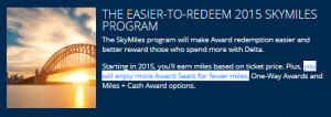 the delta promise more seats for less miles