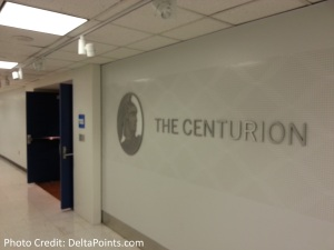 Centurion Lounge LGA LaGuardia Airport american express delta points blog inside entrance (2)