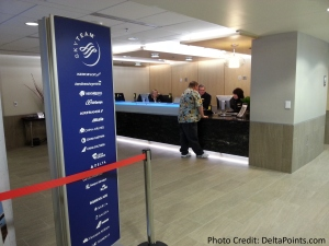 DFW Dallas  Fort Worth E Delta Skyclub 4 – 2015 Delta Mileage Run