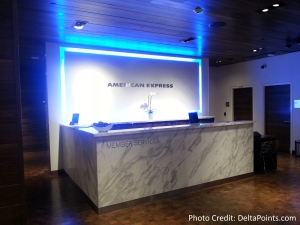 The American Express Centurion lounge AMEX LAS Las Vegas airport delta points blog 3
