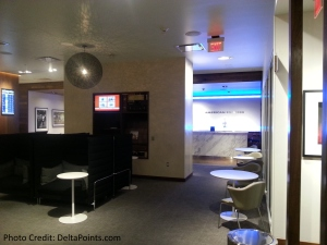 The American Express Centurion lounge AMEX LAS Las Vegas airport delta points blog 4