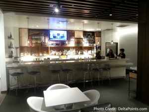 The American Express Centurion lounge AMEX LAS Las Vegas airport delta points blog 7