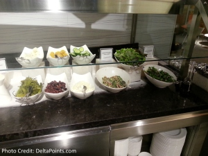 The American Express Centurion lounge AMEX LAS Las Vegas airport delta points blog 9