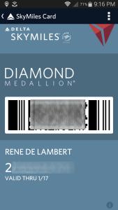 rene diamond car in app