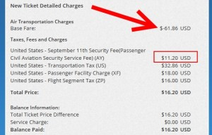 base fare for my pwm ticket