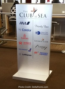 The CLUB at SEA Delta Points blog review (2)