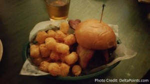 great blue cheese burger in MSP