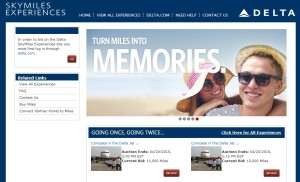 miles to memories pull a delta 757