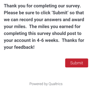 Delta Air Line Survey about SkyMiles May 2015 (17)