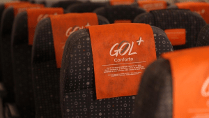 gol + conforto seats with blocked middle seat