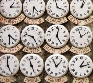 jet lag many clocks