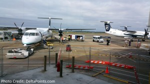 q400 prop jets in sea on EAT run delta points blog