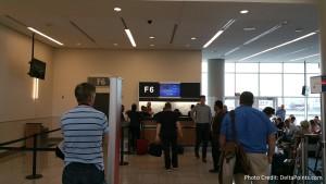 F6 Atlanta gate Virgin Atlantic Delta Points blog