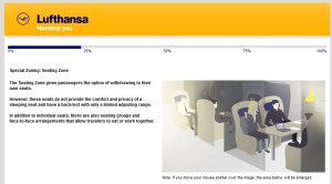 Lufthansa business class new product survey delta points blog (3)