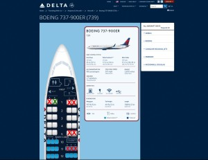 SEATS to try to avoid on delta 737-900